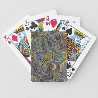 Jeu De Cartes Visions de FOMI des cartes de jeu de beaux-arts