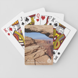 Jeu De Cartes Voûte de MESA aux cartes de jeu de Canyonlands NP