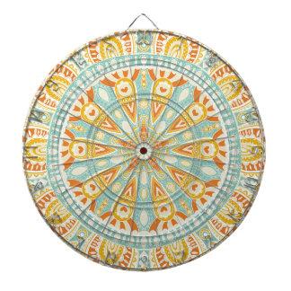 Jeu De Fléchettes Art indien de kaléidoscope