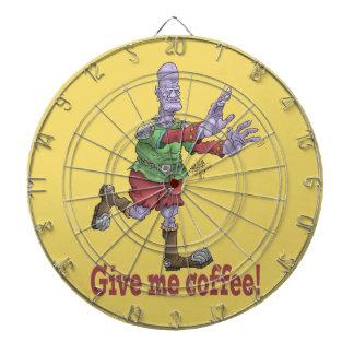 Jeu De Fléchettes Donnez-moi le café, dartboard.
