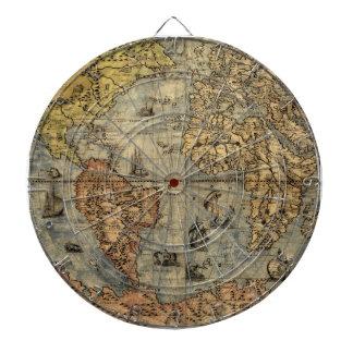 Jeu De Fléchettes Illustration 1500 d'impression d'art d'antiquité
