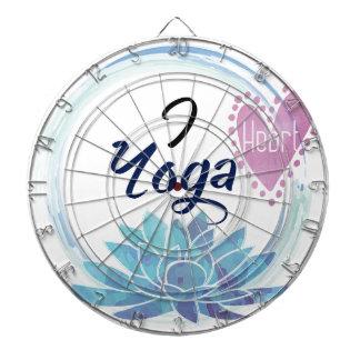 Jeu De Fléchettes J'aime l'art de yoga