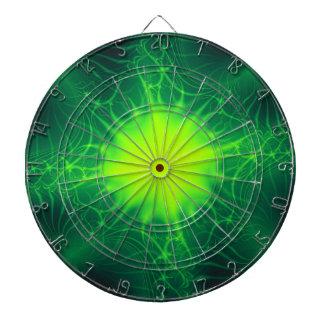 Jeu De Fléchettes Panneau de dard cosmique vert
