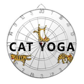 Jeu De Fléchettes yoga de chat