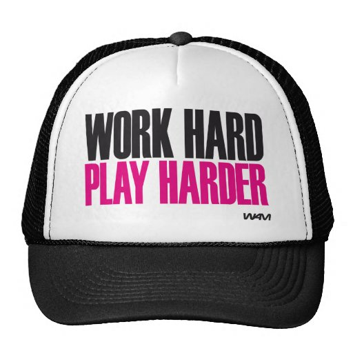 jeu dur de travail plus dur casquettes de camionneur