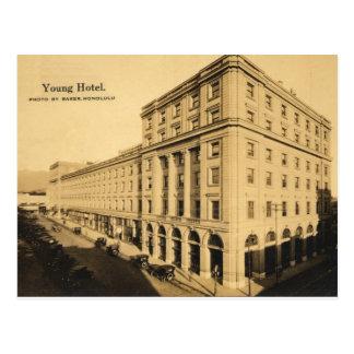 Jeune carte postale historique Honolulu, Hawaï