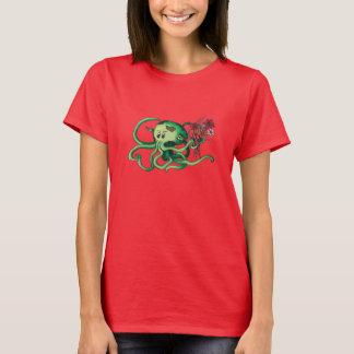 Jeune Cthulhu dans le T-shirt d'amour