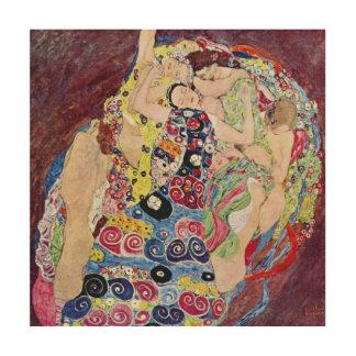 Jeune fille (Vierge), Gustav Klimt, art vintage