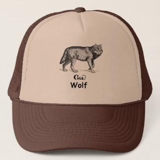 Jeune loup cherokee casquette