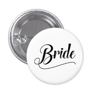 Jeune mariée badge rond 2,50 cm