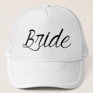 Jeune mariée casquette