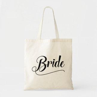 Jeune mariée sac en toile budget