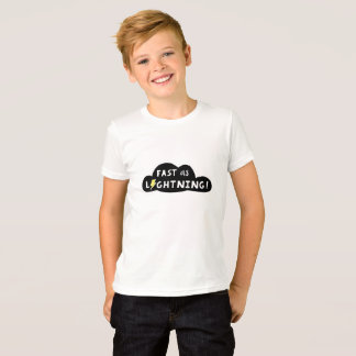 Jeûnez en tant que T-shirt de l'enfant de foudre