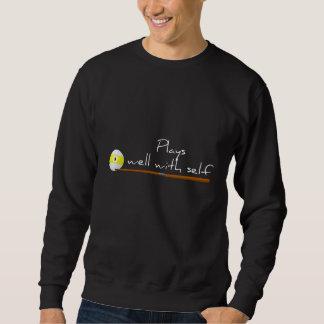 Jeux bien, sweatshirt drôle d'énonciation
