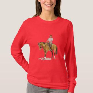 JFK sur le cheval T-shirt