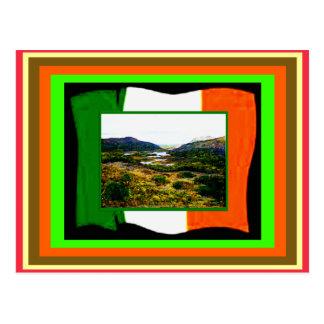 jGibney de drapeau et de l'Irlande d'UCreate du Cartes Postales