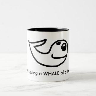 JIM : Tasse de temps de baleine