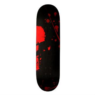 JK16 HABILLEMENT - crâne rouge Skateboard Old School 21,6 Cm