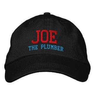 Joe le casquette brodé par plombier