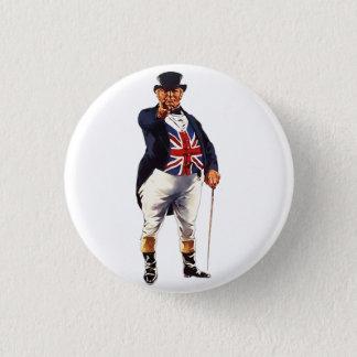 John britannique Taureau Badge Rond 2,50 Cm