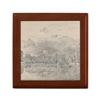 John Constable - église de Fulham Boîte À Souvenirs