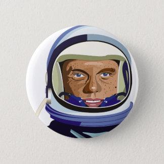 John Glenn Badge Rond 5 Cm