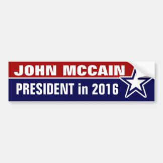 John McCain en 2016 Autocollant De Voiture