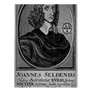John Selden, 1672 Carte Postale