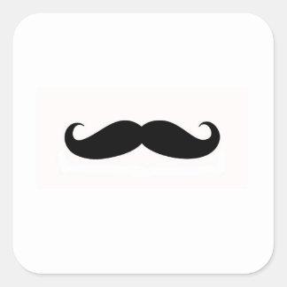 Joint d'enveloppe de moustache sticker carré