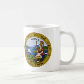 Joint et drapeau d'état de la Californie Mug