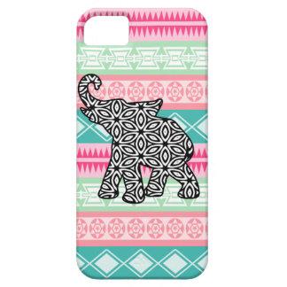 Joli coque iphone aztèque d'éléphant de motif coques iPhone 5