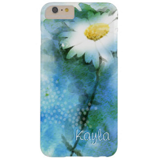 Jolie marguerite d'aquarelle coque barely there iPhone 6 plus