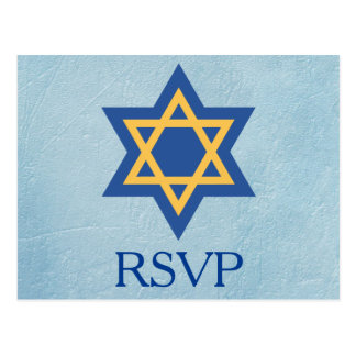 Joodse RSVP Briefkaart