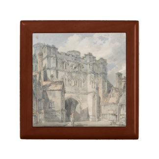 Joseph Mallord William Turner - porte d'église du Boîte À Souvenirs