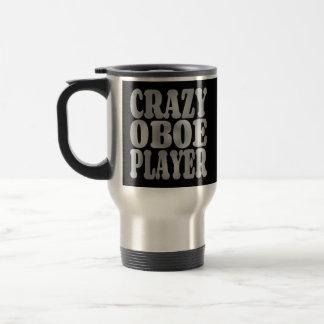 Joueur fou de hautbois en argent mugs à café