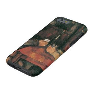 Joueurs de carte par Paul Cezanne, beaux-arts Coque iPhone 6 Tough