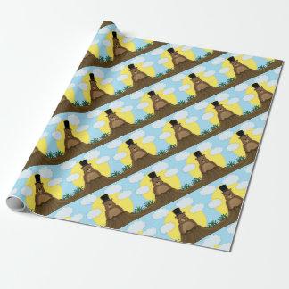 Jour de Groundhog Papiers Cadeaux Noël