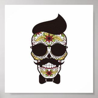Jour de hippie du crâne mort