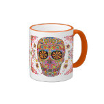 Jour de la tasse/du Dia de los Muertos Mug morts