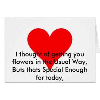 Jour de mères Boquet Carte De Vœux