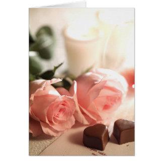 Jour de Valentines Carte De Vœux
