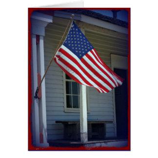 Jour de vétérans, carte de voeux militaire de