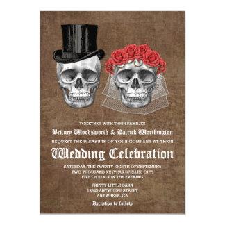 Jour des invitations mortes de mariage de couples