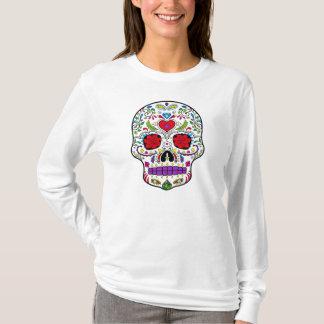 Jour du sucre mort Skull Dia de los Muertos T-shirt