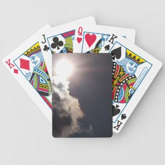 Jour ensoleillé nuageux jeu de poker