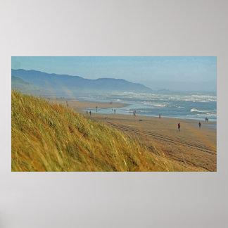 Jour facile à la plage d'océan