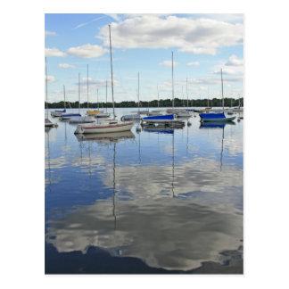 Jour paresseux au lac Harriet Carte Postale