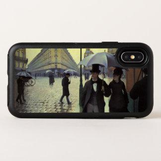Jour pluvieux de rue de Paris par Gustave