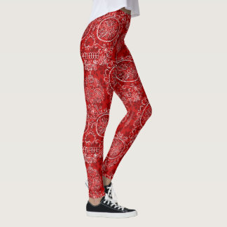 Jour rouge des morts leggings