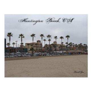 Jour sombre chez Huntington Beach Carte Postale